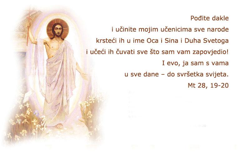 svete uskrsne čestitke Uskrsna čestitka časne majke Miroslave Bradica | Družba sestara  svete uskrsne čestitke